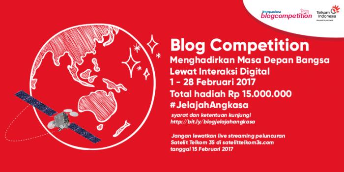 Kompetisi Blog Menghadirkan Masa Depan Bangsa Lewat Interaksi Digital