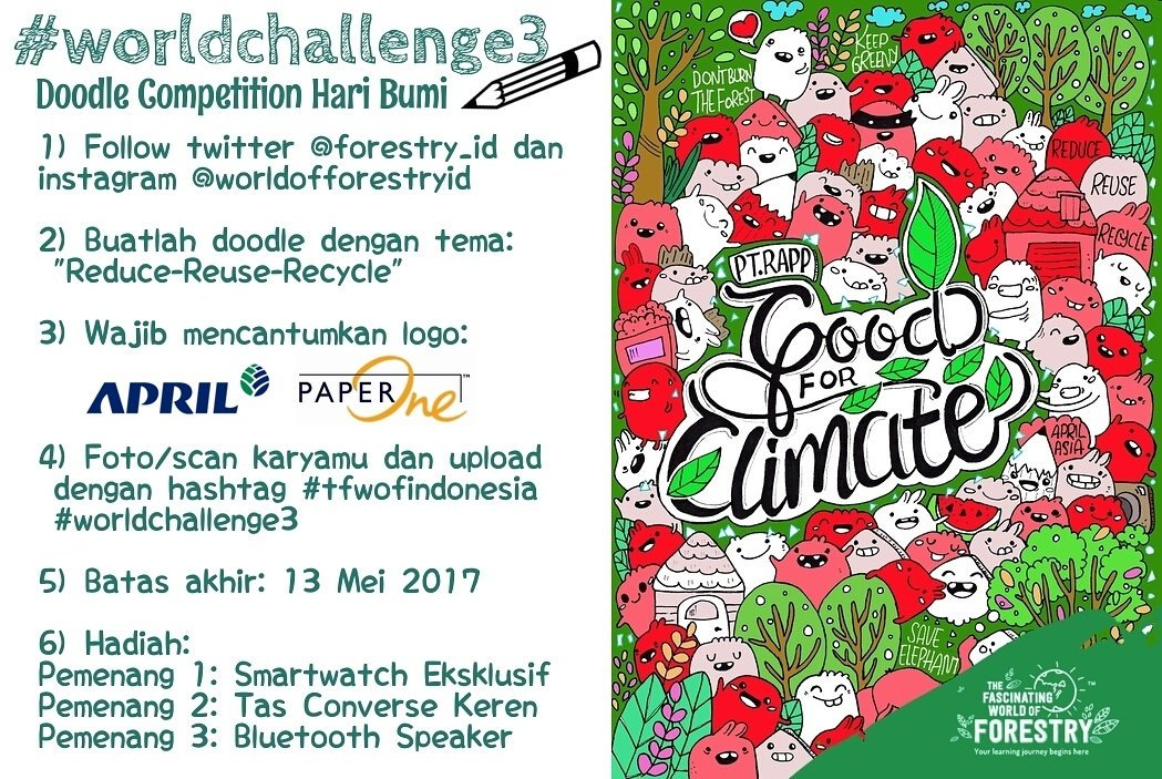 Doodle Competition Hari Bumi