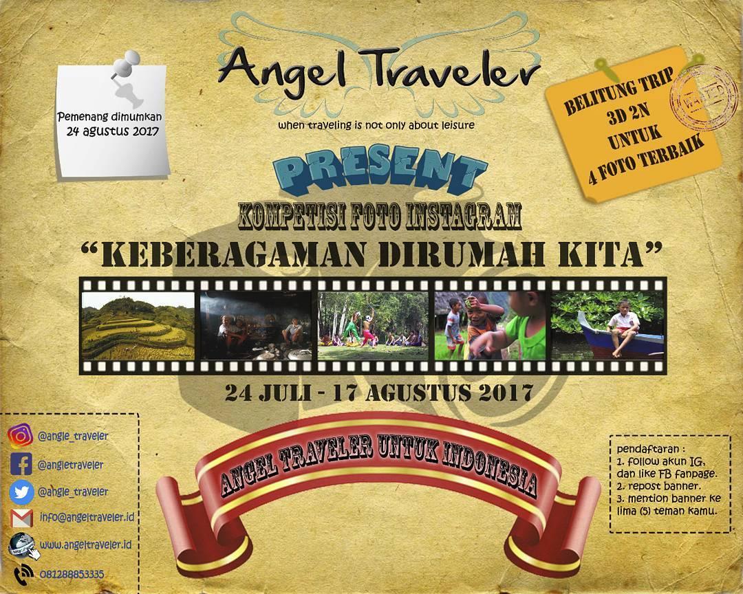 Kompetisi Foto Instagram dari Angel Traveler