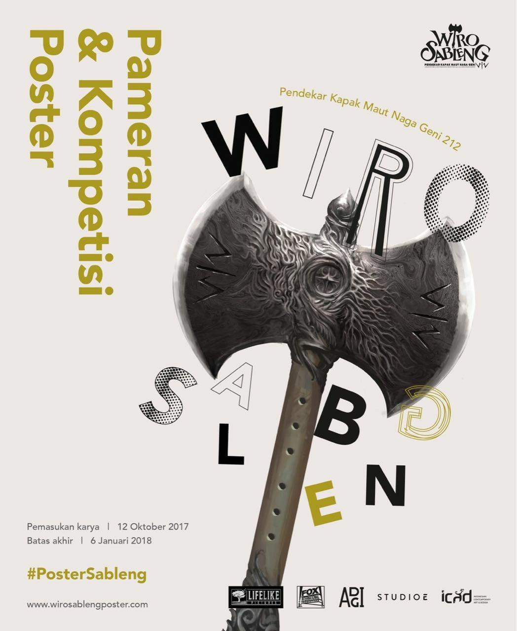 Kompetisi Poster Wiro Sableng Kapak Maut Naga Geni 212