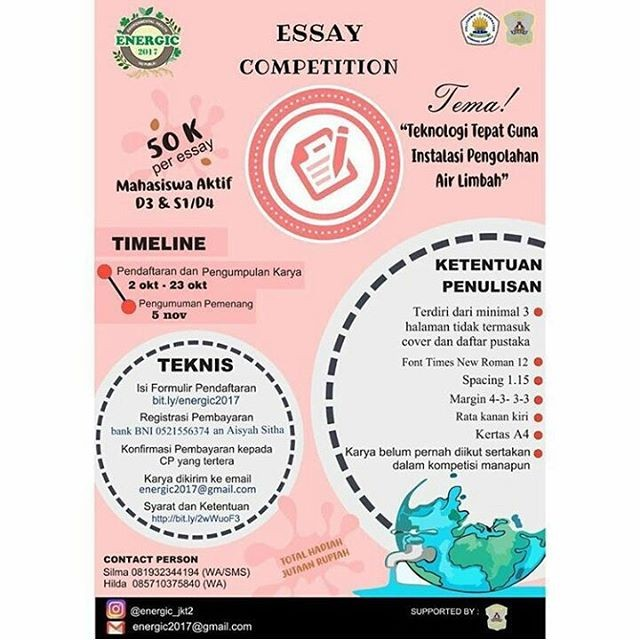 Essay Competition Energic 2017