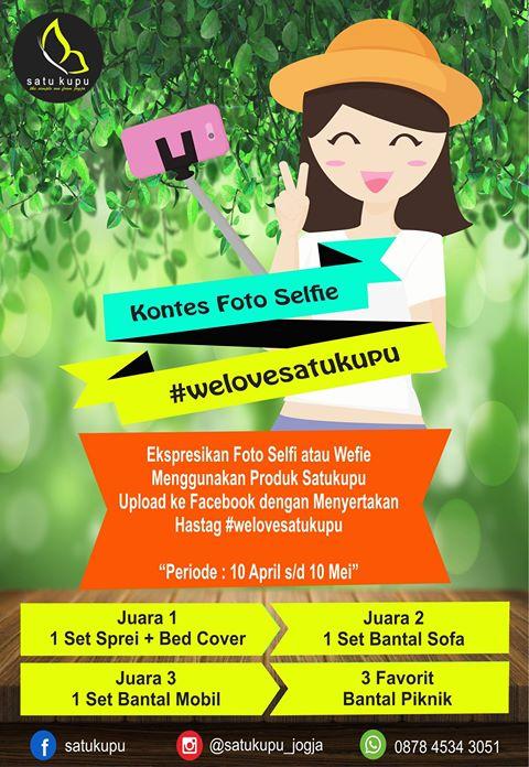 Kontes Foto Selfie dan Wefie Satukupu