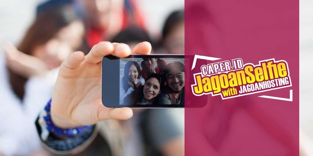 Caper.id Jagoan Selfie with Jagoan Hosting