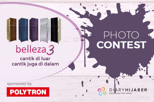 Photo Contest dari Diary Hijaber bersama Belleza 3
