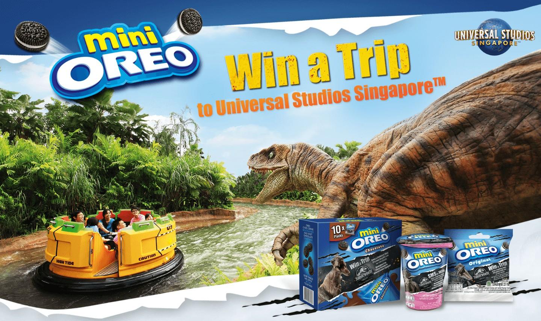 Menangkan Jalan - Jalan ke Universal Singapura dari mini OREO