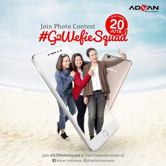 Photo Wefie Contest G2Wefie Squad